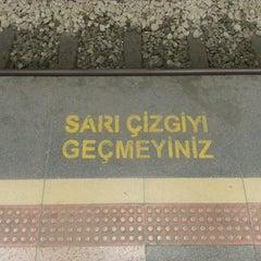 Photo taken at Osmangazi Metro İstasyonu by Necati Mehmet E. on 3/25/2013
