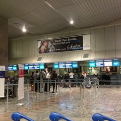 Photo taken at Terminal A International Departures by Chris B. on 12/10/2012