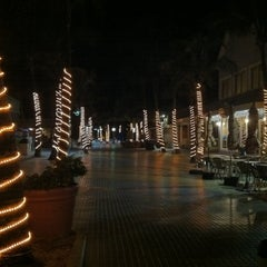 Photo taken at Times Square Ft Myers Beach by Kay W. on 12/24/2012
