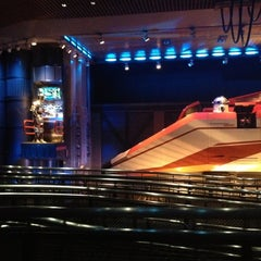 Photo taken at Star Tours - The Adventures Continue by Lisa P. on 10/31/2012