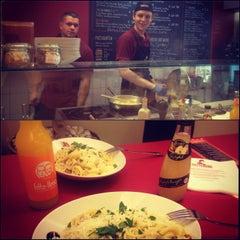 Photo taken at Pasta Deli by Julia P. on 4/15/2013