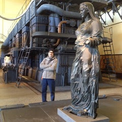 Photo taken at Centrale Montemartini by Massimiliano S. on 12/26/2014