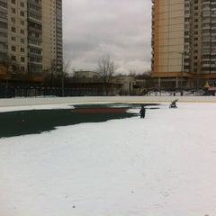 Photo taken at Хоккейная Коробка by Ivan K. on 4/7/2013