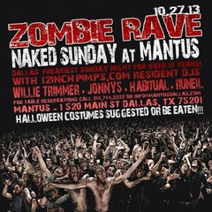Photo taken at Mantus by DJ Willie T. on 10/27/2013