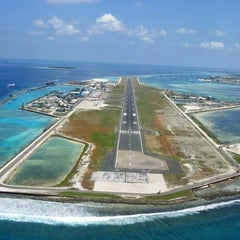 Photo taken at Ibrahim Nasir International Airport (MLE) by abdulla M. on 10/9/2012