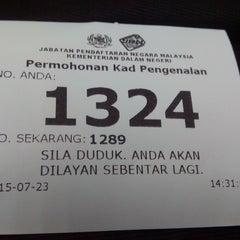 Photo taken at Jabatan Pendaftaran Negara Selangor by Roger L. on 7/23/2015