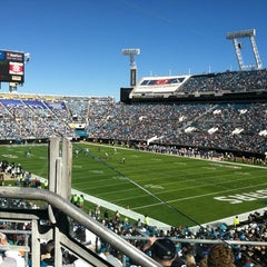 Photo taken at EverBank Field by Adrian F. on 11/25/2012