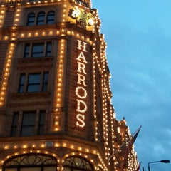 Photo taken at Harrods by Sibel G. on 7/14/2013