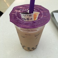 Photo taken at Chatime 日出茶太 by Casey L. on 7/1/2014