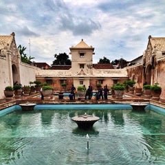 Photo taken at Taman Sari Water Castle by Lidia T. on 1/3/2013