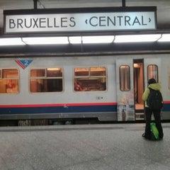 Photo taken at Gare de Bruxelles-Central / Station Brussel-Centraal by Stijn V. on 9/18/2013
