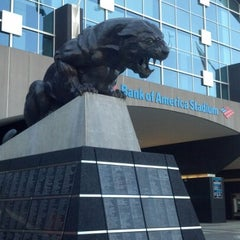 Photo taken at Bank of America Stadium by Jeffery F. on 11/1/2012