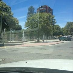 Photo taken at Plaza de Armas Talcahuano by Gaston S. on 12/29/2012