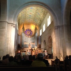 Photo taken at Shove Chapel by Tim L. on 10/11/2013