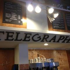 Photo taken at Telegraphe Café by Vivian N. on 2/21/2013