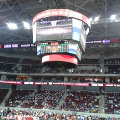 Photo taken at Mall of Asia Arena by Charles J. on 7/17/2013