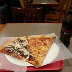 Photo taken at Piazza Pizza by Roman on 1/5/2013