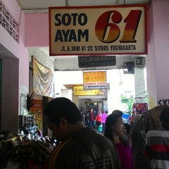 Photo taken at Soto ayam 61 by Imam L. on 1/6/2015
