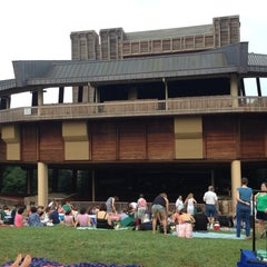 Photo taken at Wolf Trap National Park for the Performing Arts (Filene Center) by Naomi F. on 7/19/2013