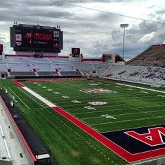 Photo taken at Arizona Stadium by Josh H. on 8/29/2013