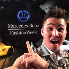 Photo taken at Mercedes-Benz Fashion Week by Timmy T. on 2/22/2015