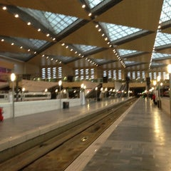 Photo taken at Estación de Zaragoza - Delicias by Lucia I. on 3/13/2013