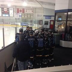 Photo taken at Lou & Gib Reese Ice Arena by Brian C. on 11/16/2014