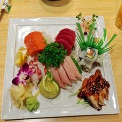 Photo taken at Edamame Sushi & Grill by GoldWing on 2/14/2013
