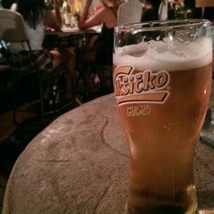 Photo taken at Azzuro by Evren C. on 8/30/2014