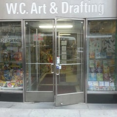 Photo taken at W.C. Art and Drafting Supply by Richard T. on 10/4/2013