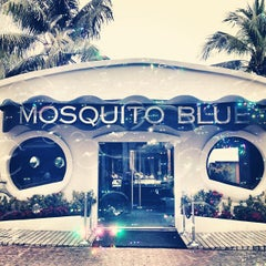 Photo taken at Mosquito Blue by Virginie F. on 1/8/2013