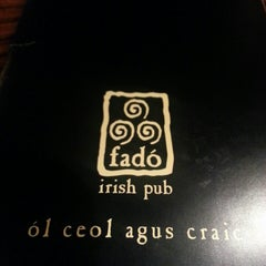 Photo taken at Fadó Irish Pub & Restaurant by Ray C. on 2/22/2013