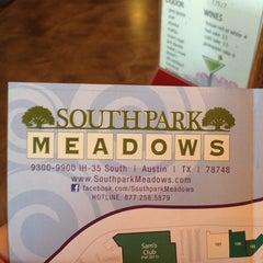 Photo taken at Cinemark Southpark Meadows by Rocio D. on 1/5/2013