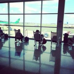 Photo taken at Boston Logan International Airport (BOS) by Kevin D. on 6/14/2013