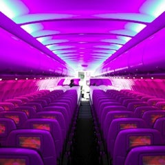 Photo taken at Virgin America by RON REESER on 1/19/2013