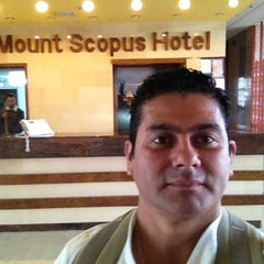 Photo taken at Mount Scopus Hotel by Darth Z. on 12/4/2012