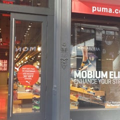 Photo taken at The PUMA Store by Christian T. on 9/21/2013