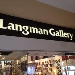Photo taken at Langman Gallery by Jim L. on 4/8/2015