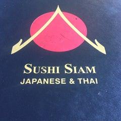 Photo taken at Sushi Siam Key Biscayne by Sabrina J. on 1/12/2014