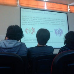 Photo taken at Facultad de Ciencias Empresariales by Gerard B. on 10/25/2012