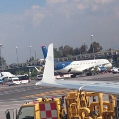 Photo taken at Sala/Gate 71 by Luis S. on 6/14/2014