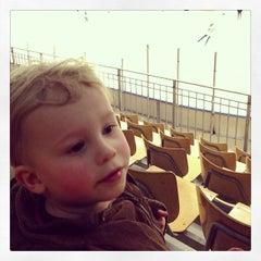 Photo taken at Halmstad Arena by Patrik G. on 2/2/2014