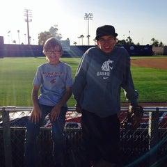 Photo taken at Hi Corbett Field by Kerri D. on 3/16/2014