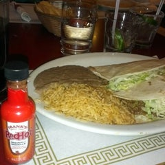 Photo taken at Mexican Town Restaurant by Conrad R. on 4/28/2013