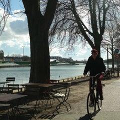 Photo taken at Den Franske Café by Astrid V. on 4/3/2015