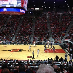 Photo taken at Viejas Arena by Daniel S. on 2/24/2013