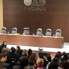 Photo taken at Ordem dos Advogados do Brasil (OAB/PR) by Raphael M. on 3/27/2015