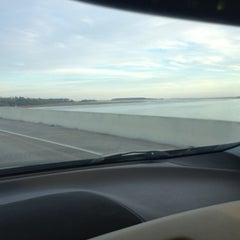 Photo taken at Cheschessee Bridge by James B. on 12/8/2012
