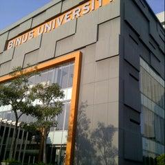 Photo taken at BINUS University by novi g. on 10/25/2012