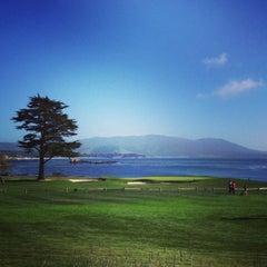 Photo taken at Pebble Beach Golf Links by Deneen on 3/24/2013